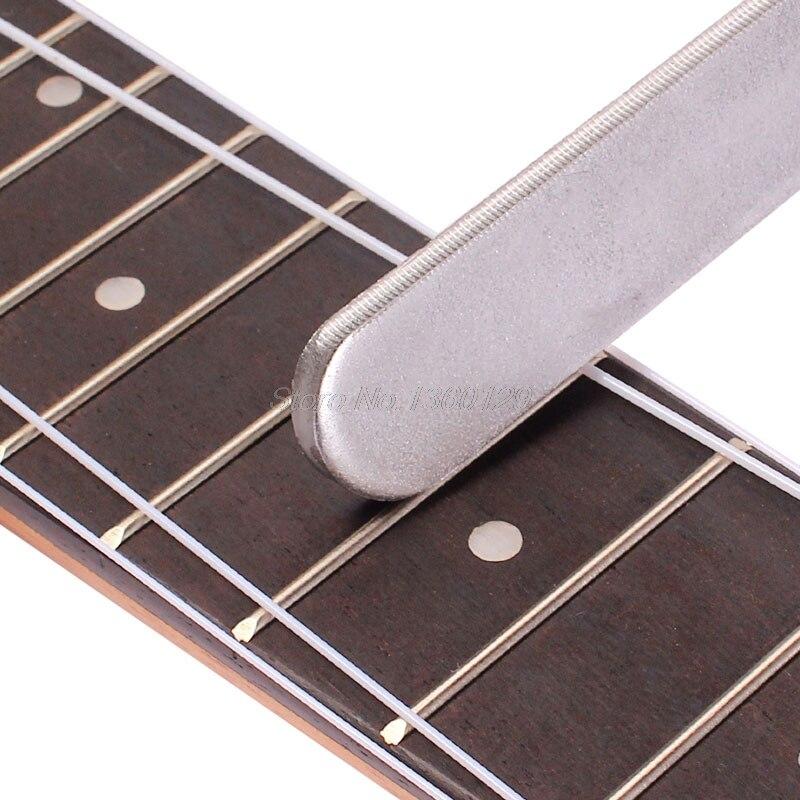 Gitarre Fret Krönung Gitarrenbauer Werkzeuge Datei Schmale Dual Schneide Langlebig Dateien Handwerkzeuge
