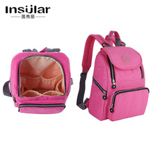 Mummy Maternity Nappy Bag On The Stroller For Mom Large Capacity Waterproof Bag To The Hospital Baby Care Travel Backpack