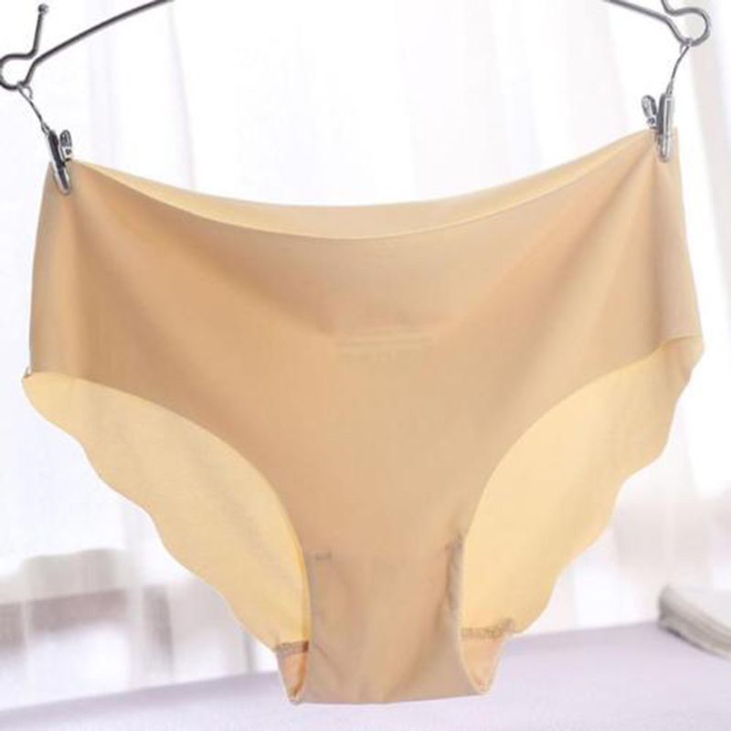 Sexy Female Ice Touth Feeling   Panties   Seamless Soft Lingerie Brief Hipster Modal Underwear Underpants Quick Drying Briefs 7 Colo