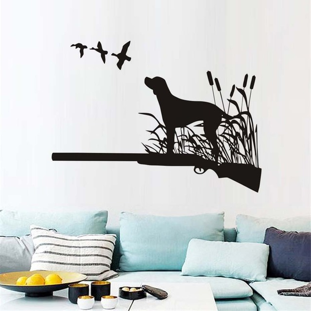 birds hunting dogs wall decals active hobbies hunter vinyl wall art