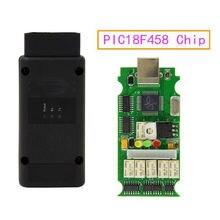 OPCOM V1.70 with PIC18F458 OP COM V1.7 OPCOM for Opel COM OPCOM OBD2 Scanne Scanner Diagnostic Tool With PIC18F458 Chip