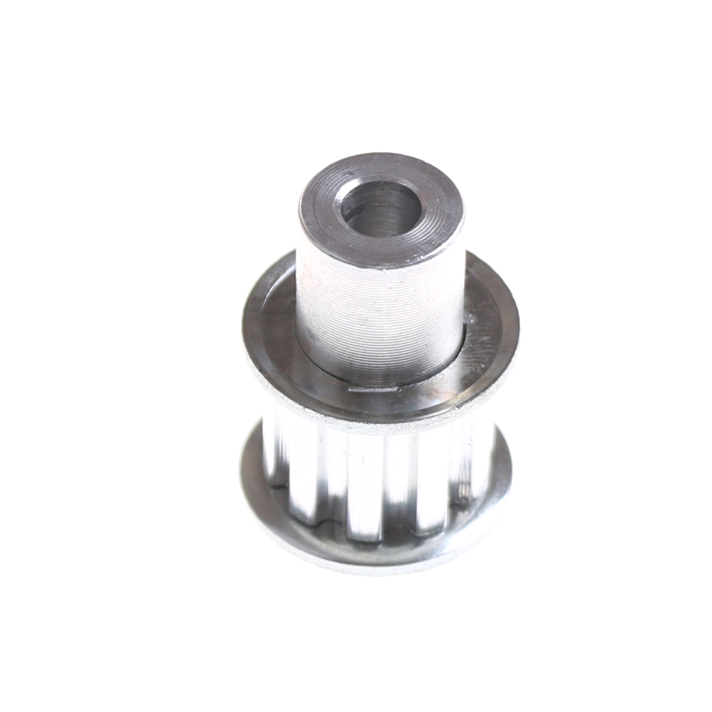 1X Stepper Motor 10 Teeth 6mm Bore <font><b>XL</b></font> Type Aluminum Timing <font><b>Belt</b></font> <font><b>Pulley</b></font> image