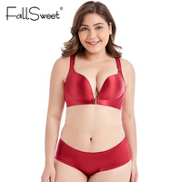 015150e9d FallSweet Front Closure Bras Set Sexy Lace Beauty Back Lingerie Set Push Up  Underwear Set For. FallSweet Fechamento Frontal ...