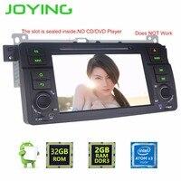 Joying Ostatnie 2 GB RAM 7 ''Android 6.0 Radio Samochodowe GPS Audio Odtwarzacz HD kierownicy Tape recorder dla BMW E46 318/320/325/330/335