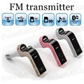 Free shipping CAR G7 FM Bluetooth Transmitter Car MP3 player supports TF/SD card USB Charger Radio Auxin Port input