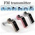 Frete grátis G7 CARRO Transmissor FM Bluetooth Car MP3 player suporta cartão TF/cartão SD Porta USB Charger Radio Auxin entrada