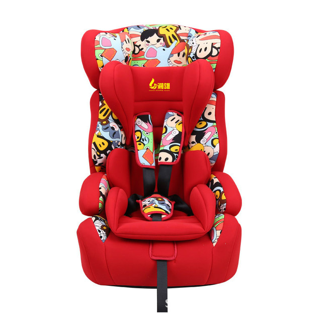 Baby car safety seat child safety seat baby infant safety seat 0-7 years old bi reclining