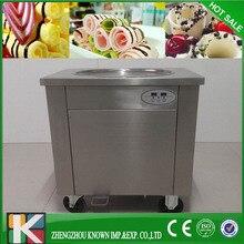 Большой размер пан 45 см Фрай Машина Мороженого/Жареные Машина Мороженого/Мороженое Рулонной Машины