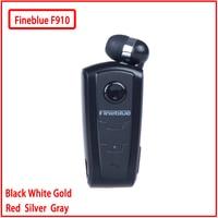 Fineblue F910 미니 휴대용 무선 블루투스 이어폰 헤드셋 귀에 진동 경고 착용 클립 핸즈프리 전화 번호