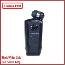 Fineblue F910 Mini przenośny bezprzewodowy zestaw słuchawkowy Bluetooth słuchawki douszne alarm wibracyjny nosić klip bezprzewodowy do telefonu