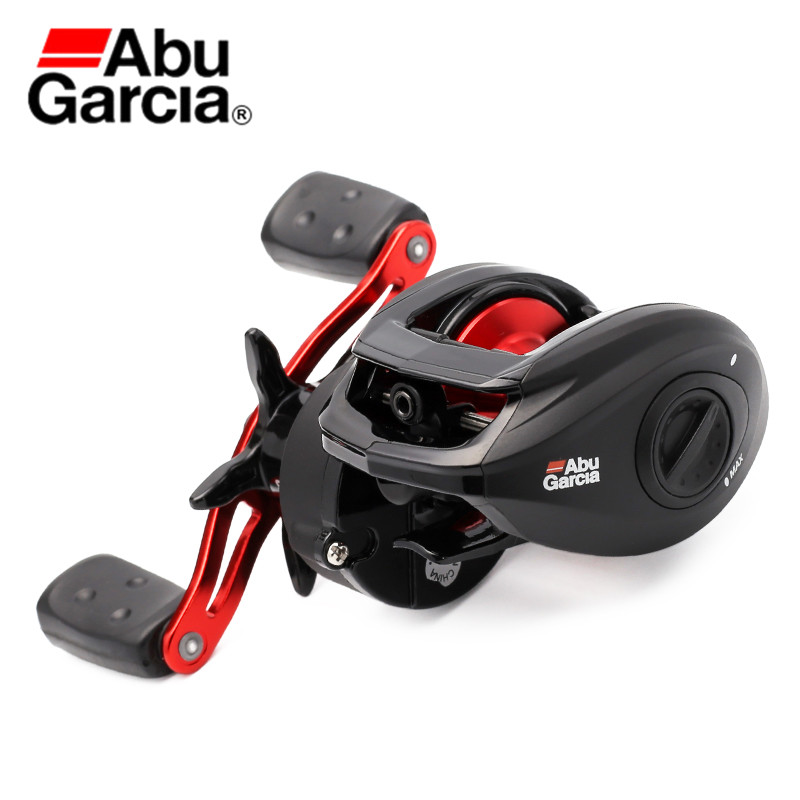 Abu Garcia BMAX3 Bait Casting Reel Left/Right Hand Saltwater Freshwater Fishing Reel 4+1BB 6.4:1 Power Disk System Max Drag 18LB free shipping trulinoya 10 1 bb 6 3 1 baitcasting fishing reel bait casting baitcast caster right or left hand new dw1000