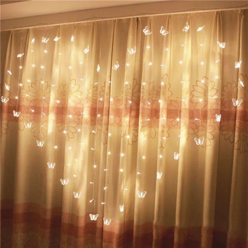 JUNJUE LED Love Shape Clip String Lights Fashion Photos Powered Lamp Christmas Holiday Wedding Home Decoration Fairy Light Strip