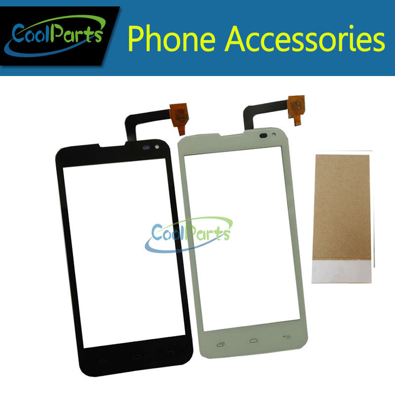 1PC/Lot High Quality For Fly IQ 4415 Quad Era Style 3 IQ4415 Touch Screen Digitizer Touch Panel Glass With Tape&Tool Black White ...
