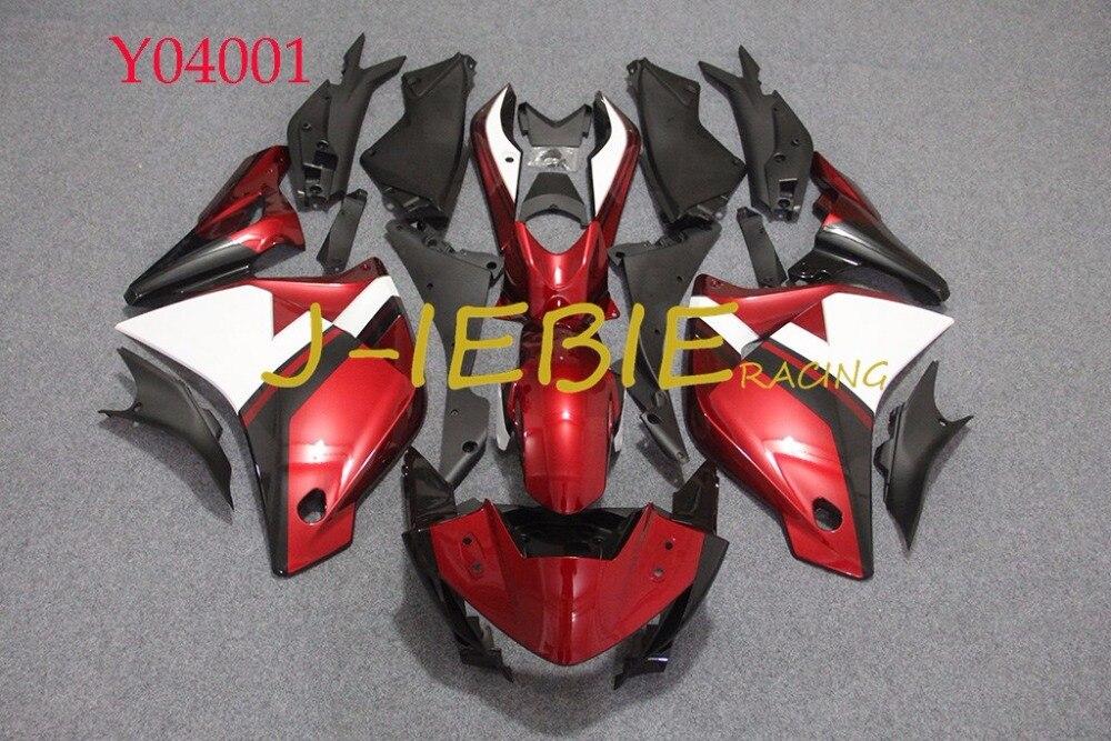 Red Black White Injection Fairing Body Work Frame Kit for Honda CBR250R CBR 250 CBR250 RR 2011 2012 2013