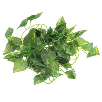 Party 2M Artificial Scindapsus Aureus Vine for Reptiles