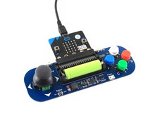 Waveshare Gamepad module for micro bit Joystick and Buttons plays music powered from battery also charges