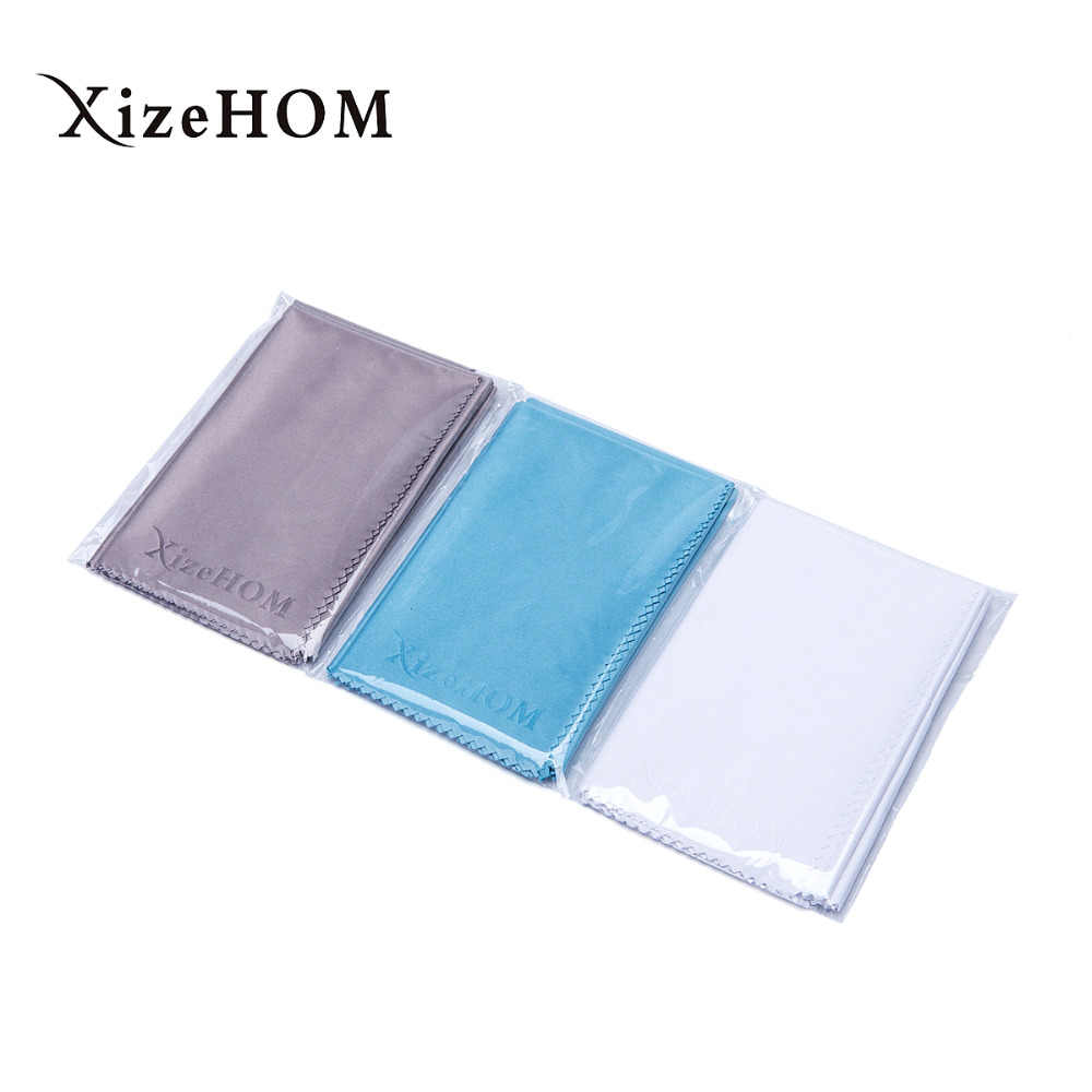 25*25cm/3pcs Microfiber Cloth For Eyeglasses Screens Lenses IPad Tablets IPhone Phones Laptop LCD TV And Other Delicate Surfaces