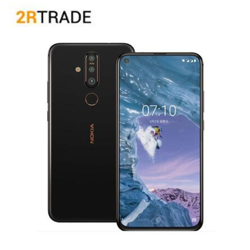 "Nokia X71 Mobile Phone Snapdragon 660 Octa Core 6GB RAM 6.39"" Android 9 48MP Camera Fingerprint 4G Mobile Phone"