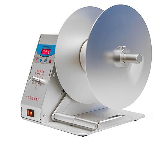110V Digital Automatic Label Rewinder Tags Rewinding Machine Speed Adjustable automatic digital label tags rewinder barcode rewinding machines speed adjustable 220v