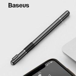 Baseus Universal Stylus ปากกามัลติฟังก์ชั่ปากกาสัมผัสหน้าจอแบบ Capacitive Touch Pen สำหรับ iPhone iPad Samsung Xiaomi Huawei แท็บเล็ตปากกา