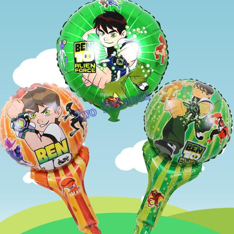 unidslote ben globos de papel lindo de la historieta de mano globos with cumpleaos para nias de aos