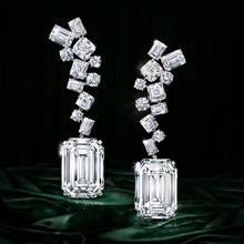 GODKI Trendy luksusowe geometryczne CZ Cubic cyrkon Tassel dynda kolczyki dla kobiet długie kolczyki ślubne pendientes mujer moda 2018