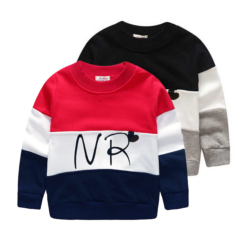 2017 designer boys sweatshirt cotton t shirt for boys cartoon outwear 2-7years kids clothes spring autumn boys tops tees clothes