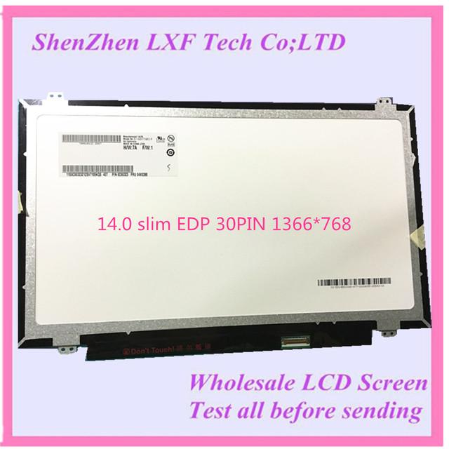 14 ''portátil delgado led pantalla edp para lenovo b40 serie b40-30 b40-70 b40-45 reemplazo de la pantalla lcd para el ordenador portátil