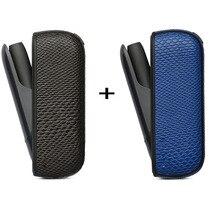 Jinxincheng 2Pc Lot Leather Case Voor Iqos 3 Cover Pouch Voor Iqos 3.0 Beschermende Houder Tas Accessoires