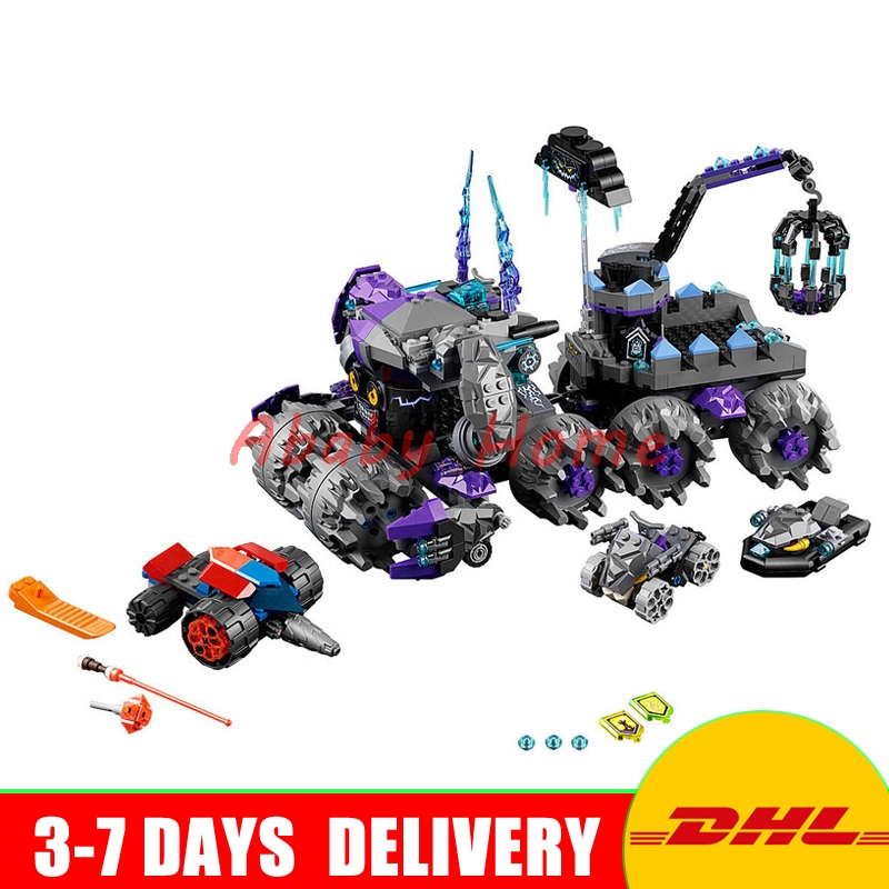 DHL Lepin 14031 886pcs Nexus Knights Jestro\'s Monstrous Monster Vehicle Education Building Blocks Bricks Toys Compatible 70352 lepin 14004 knights beast master chaos chariot building bricks blocks set kids toys compatible 70314 nexus knights 334pcs set