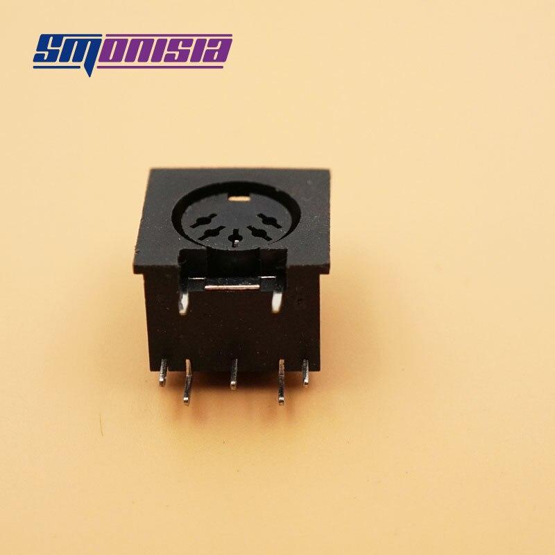 200 pcs 3 P 4 P 5 P 7 P 8 P żeńskie DIN kabel z wtyczką złącze wtykowe zaciski duży Panel klawiatury do montażu w płycie lutowniczej podwozie adapter gniazda w Złącza od Lampy i oświetlenie na AliExpress - 11.11_Double 11Singles' Day 1