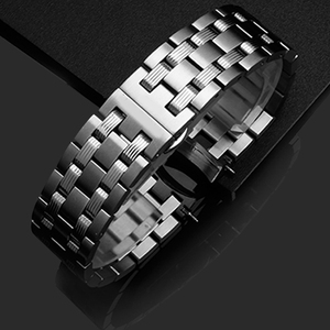 Image 5 - PEIYI watchband 19mm replacement metal bracelet silver stainless steel strap mens and female watch chain for Tissot T065