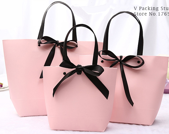 Paper bag Cake packing candy Bisscuits pastry Baking bag gift Packing bag 100pcs lot