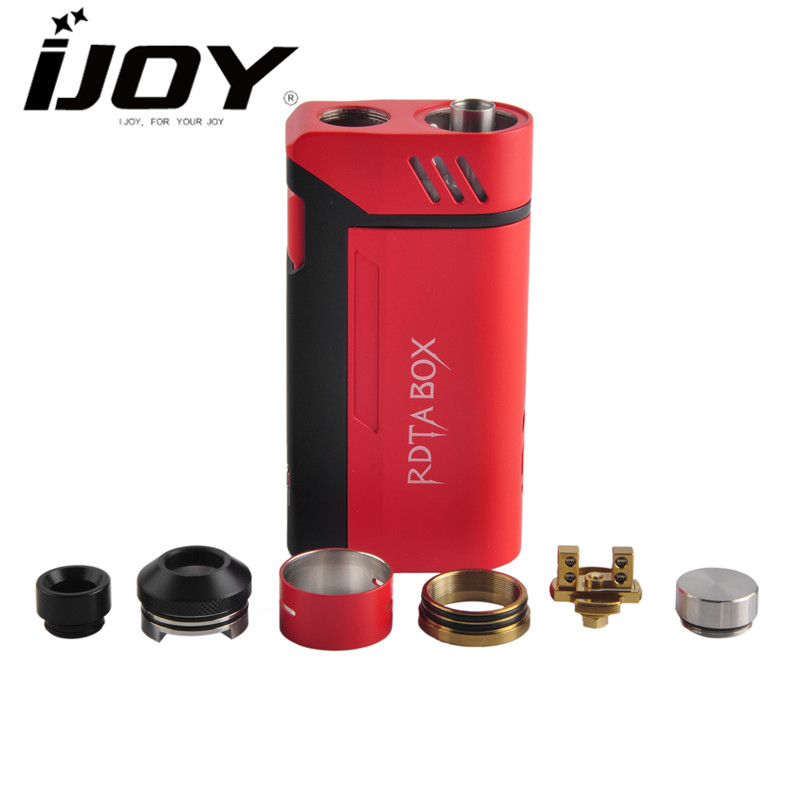 IJOY RDTA BOX MOD kit 200w 12.8ml 28mm Vapor Cigarette Hookah Electronic Cigarette E Cig Elektronik Sigara Shisha Vaporizer