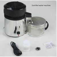 Water distiller 110V/220V 304 stainless steel distilled water machine water filter equipment 1L/H distilled machine