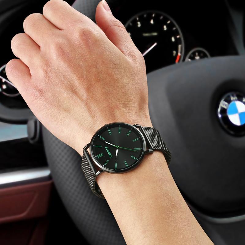 Carotif Luxury Waterproo Business Casual Quartz Armbandsur - Herrklockor