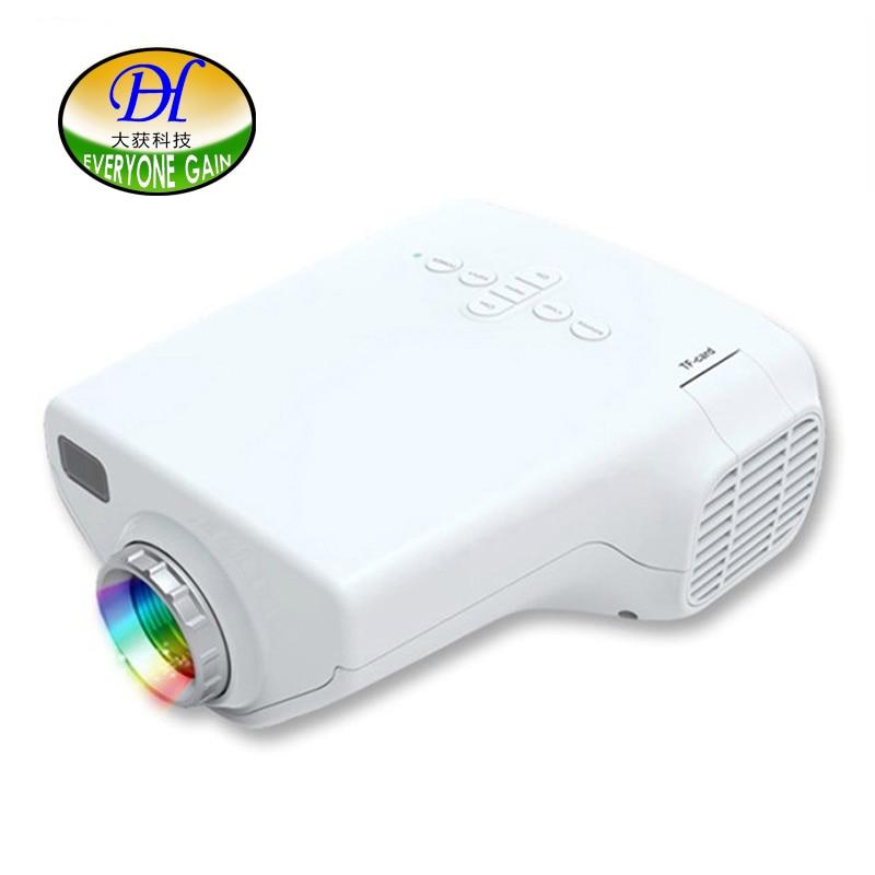 Everyone gain portable children early education projector with vga usb hdmi av...