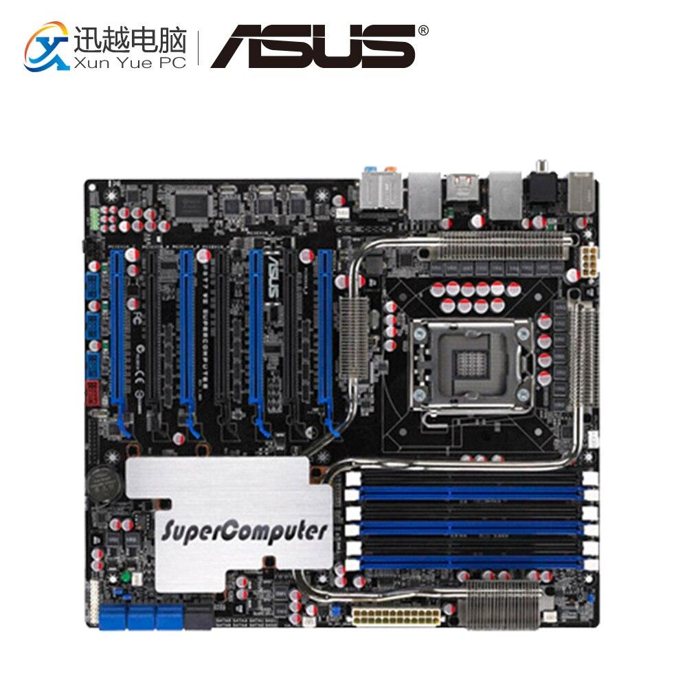 Asus P6T7 WS SuperComputer della Scheda Madre Desktop di X58 Socket LGA 1366 i7 DDR3 SATA2 USB2.0 ATX