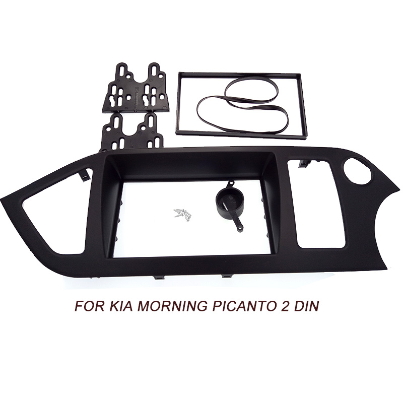Honda Civic Radio CD Stéréo Panneau Avant fascia panel Surround Kit de montage argent