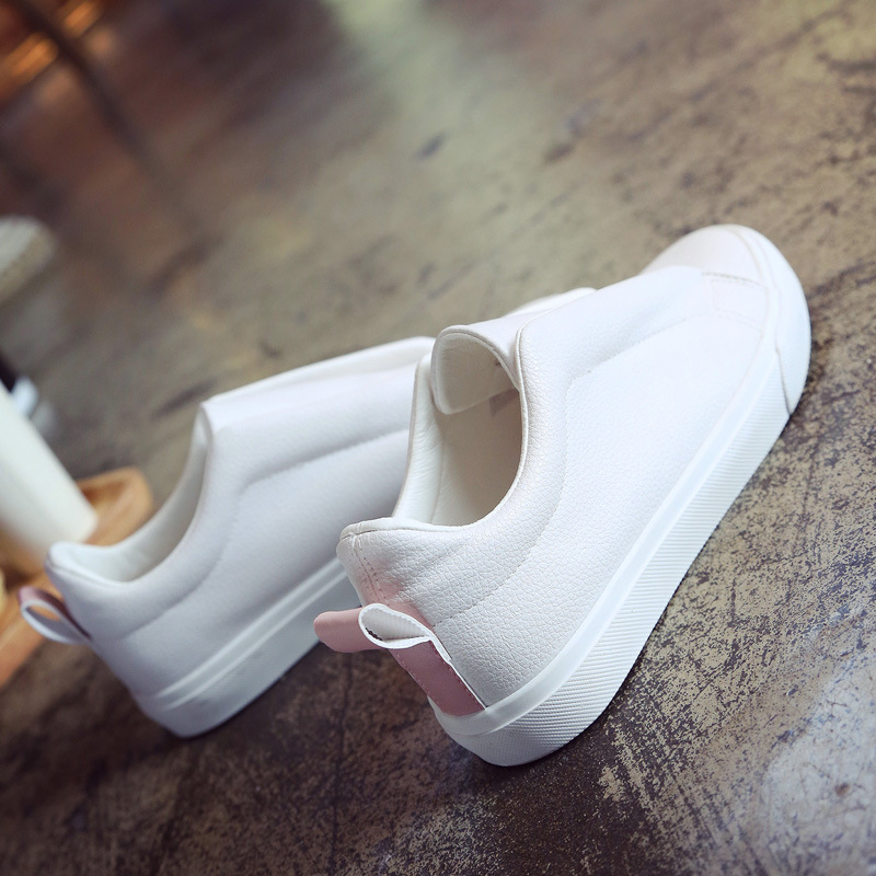 Women shoes 2018 new spring summer sneaker trainer loafer top air non-slip wearproof Casual shoes fashion lazy soild leather