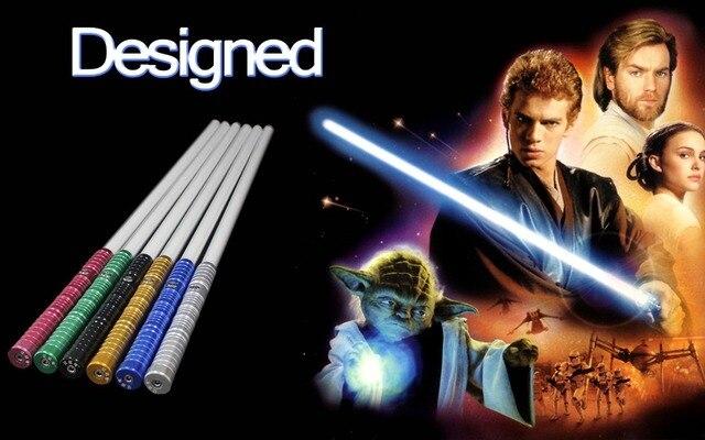 Łukasz Jedi Star Wars Black Series Skywalker LightSaber Niebieski Vader miecz 100 cm Elektroniczne zabawki Światło może być niewielkie kolizji prezent