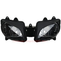 Clear Lens Motorcycle Plastic Front Light Lamp Case For Yamaha YZF R1 1998 1999 Headlight Housing Set