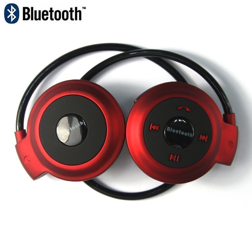 MINI 503 Bluetooth Headphones Sports Wireless Stereo Headsets Earbuds With Mic Support TF Card FM Radio for iPhone Samsung