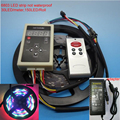 DC12V 5M Digital RGB 133 Dream color 6803 IC Not waterproof LED Strip 5050 + RF remote controller + 3A power supply set