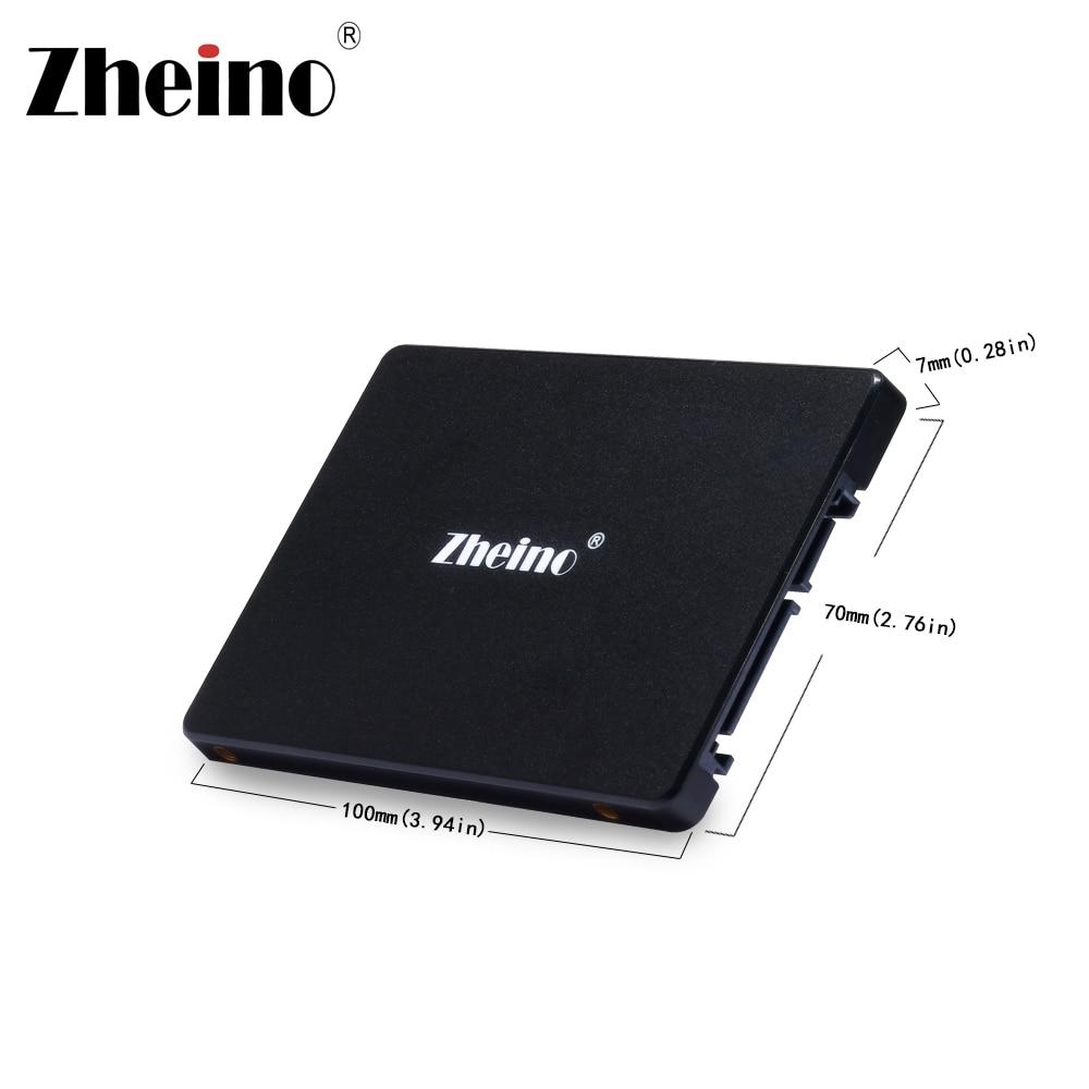 Zheino SSD 120GB 240GB 360GB 128GB 256GB 512GB 1TB SSD 2.5 SATA3 3D Nand Drive Disk SSD Internal Hard Drive(China)