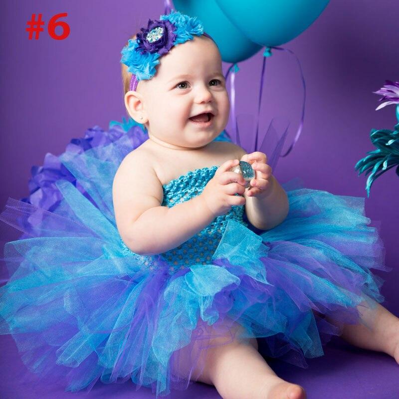 Niñas Rainbow Tutu vestido de hadas vestido de bebé mullido con - Ropa de bebé - foto 6