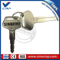 2 Pcs Truck Parts 787 Ignition Key for Komatsu PC Excavator