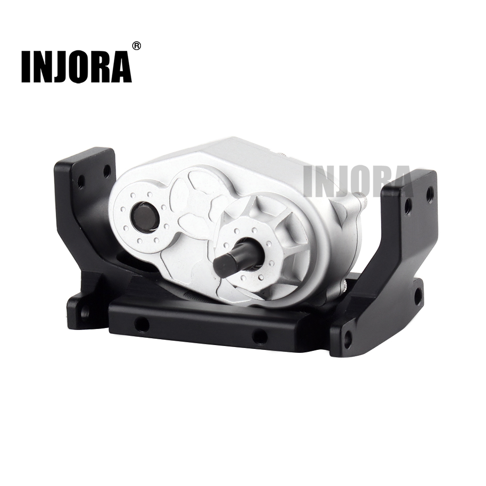 INJORA Metal D90 Gearbox Transfer Case With 72MM Mount For 1/10 RC Crawler Axial SCX10 D90 D110 TF2