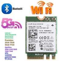 Banda Dual 2,4 + 5GHZ 867M Bluetooth V4.2 NGFF M.2 WLAN Wifi inalámbrico módulo de tarjeta para Intel 8260 AC DELL 8260NGW DP/N 08XJ1