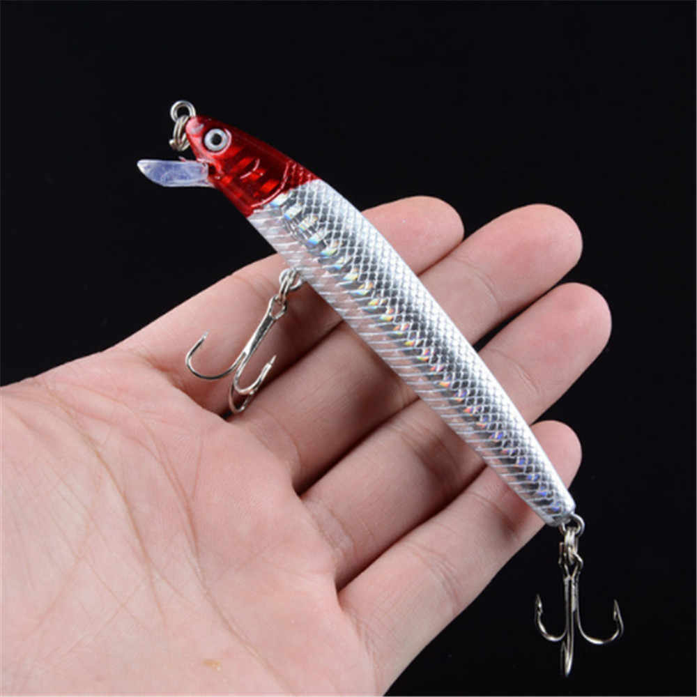 1 sztuk 9.5 cm/7.5g woblery głębokie pływać błystka profesjonalna jakość twarde sztuczne przynęty ryb